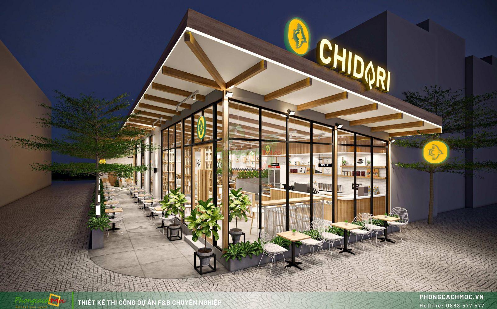 Dự án Chidori Coffee & Tea - Rạch Giá