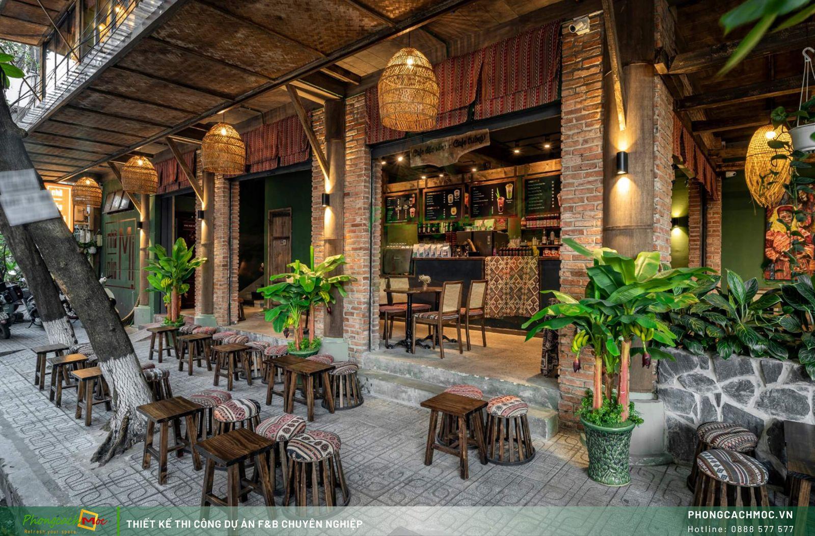 Dự án quán cafe Nhà Của Mị - Hồ Chí Minh