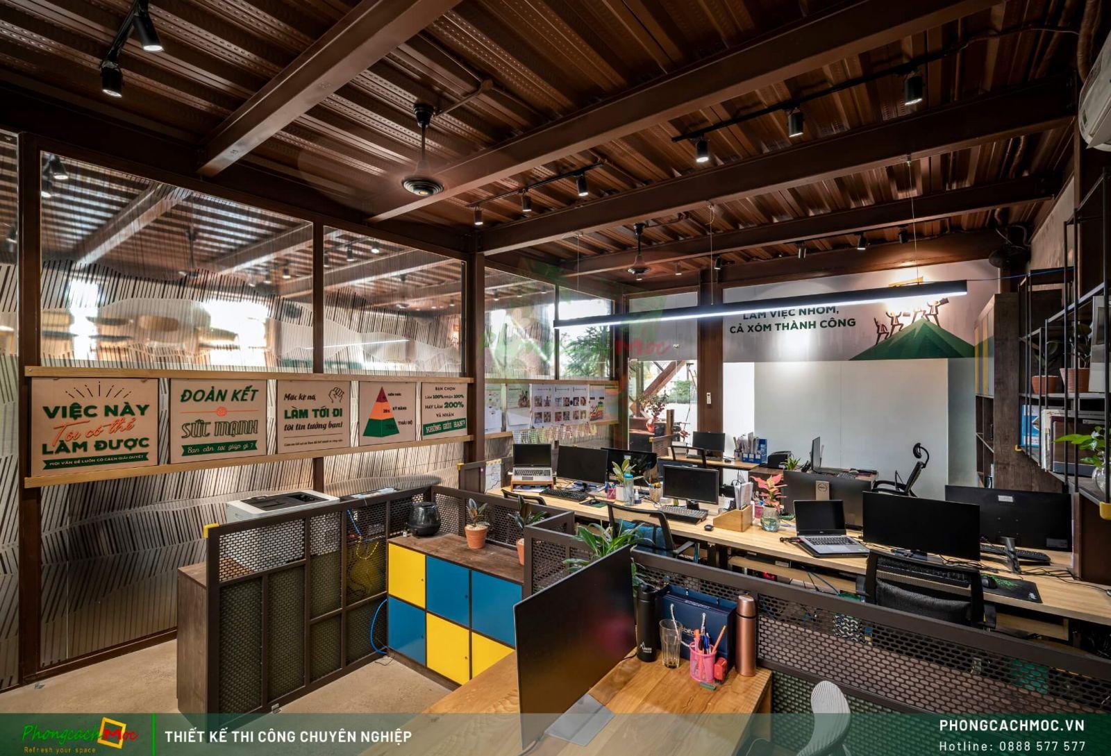 Thiết kế không gian làm việc
