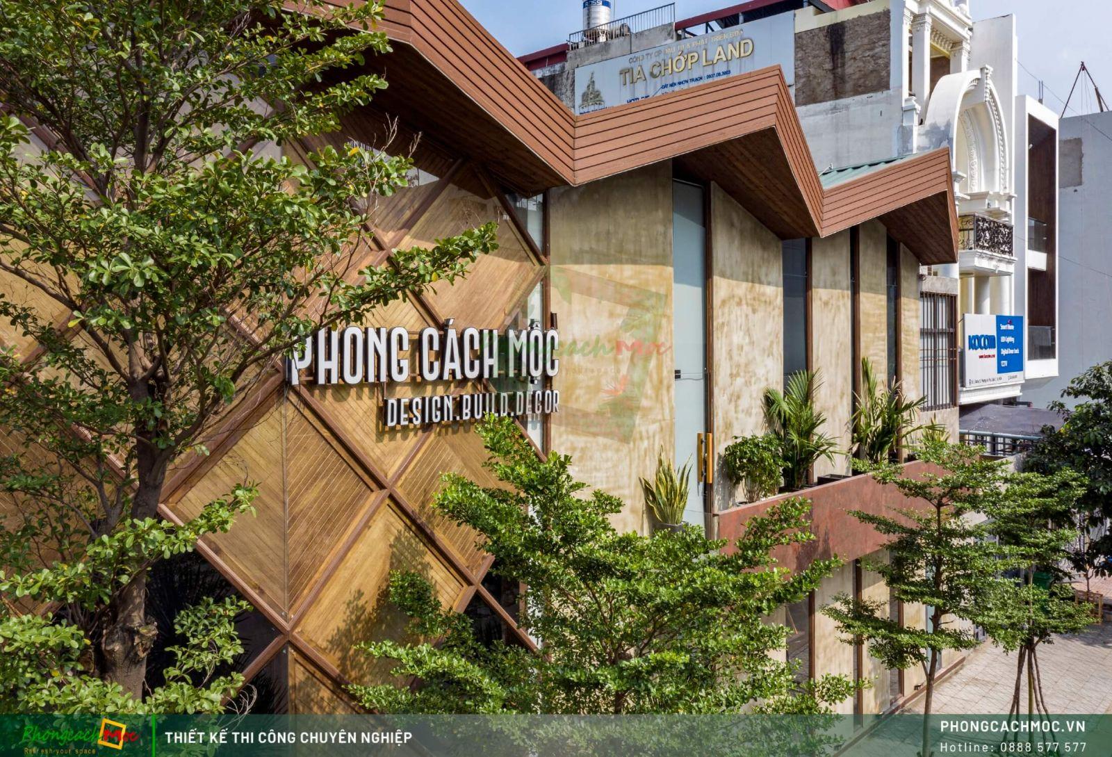 Mặt tiền hong Phong Cách Mộc Workshop