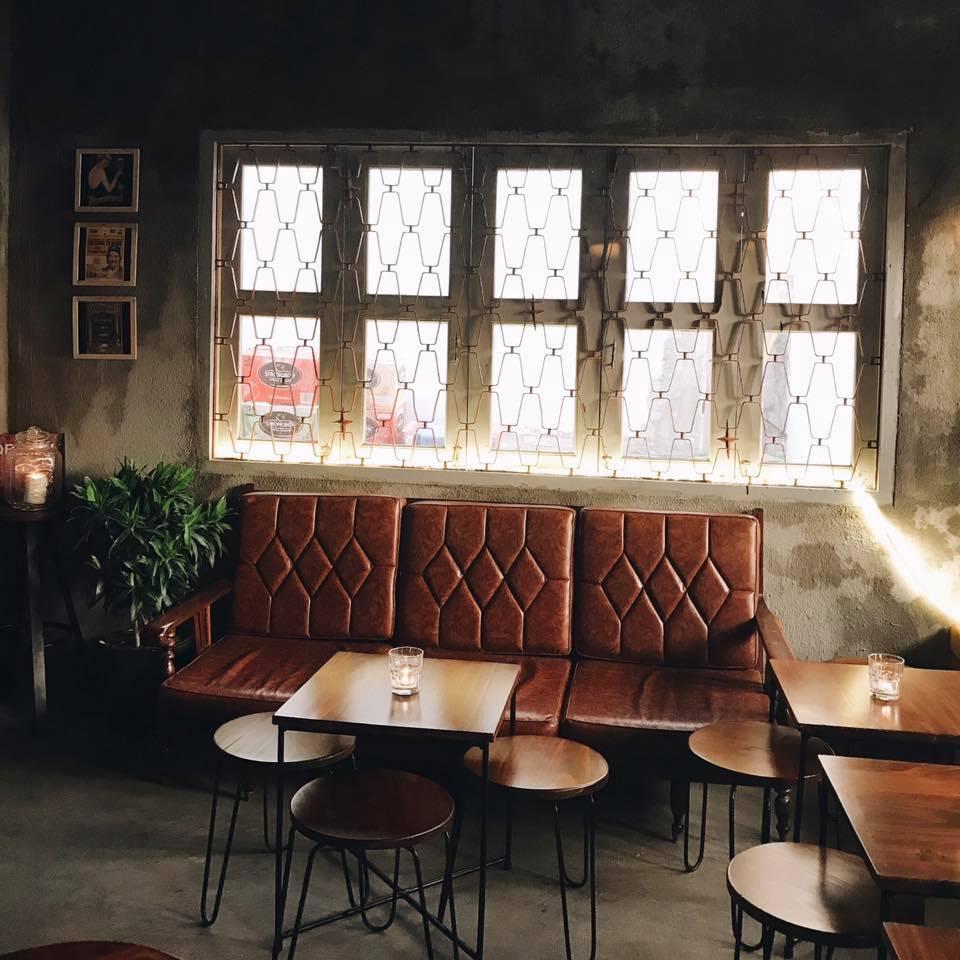 không gian nội thất quán cafe tại vũng tàu