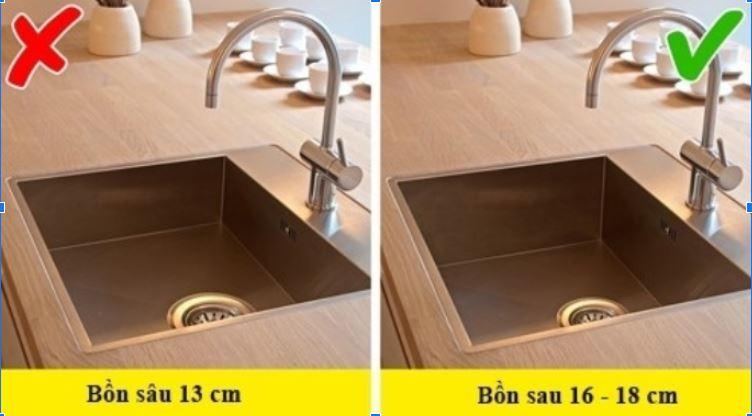 bồn rửa bát phòng bếp