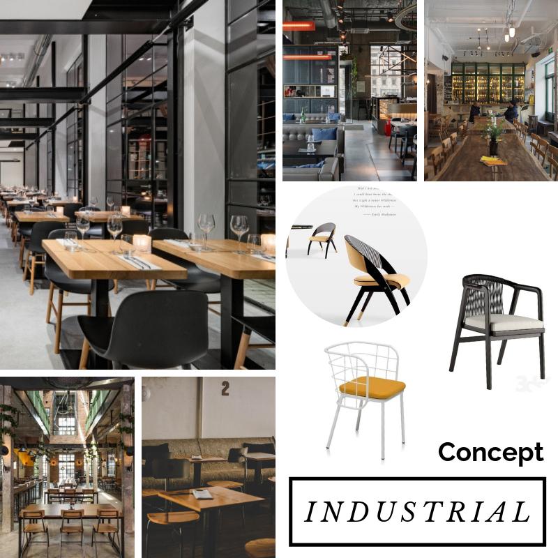 chủ đề phong cách thiết kế nội thất industrial