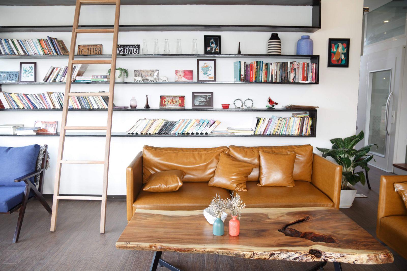 quán cafe kết hợp văn phòng
