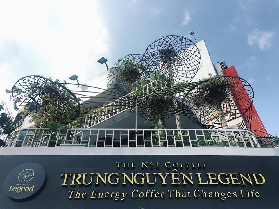 hệ thống trung nguyên legend cafe - thương hiệu cafe việt