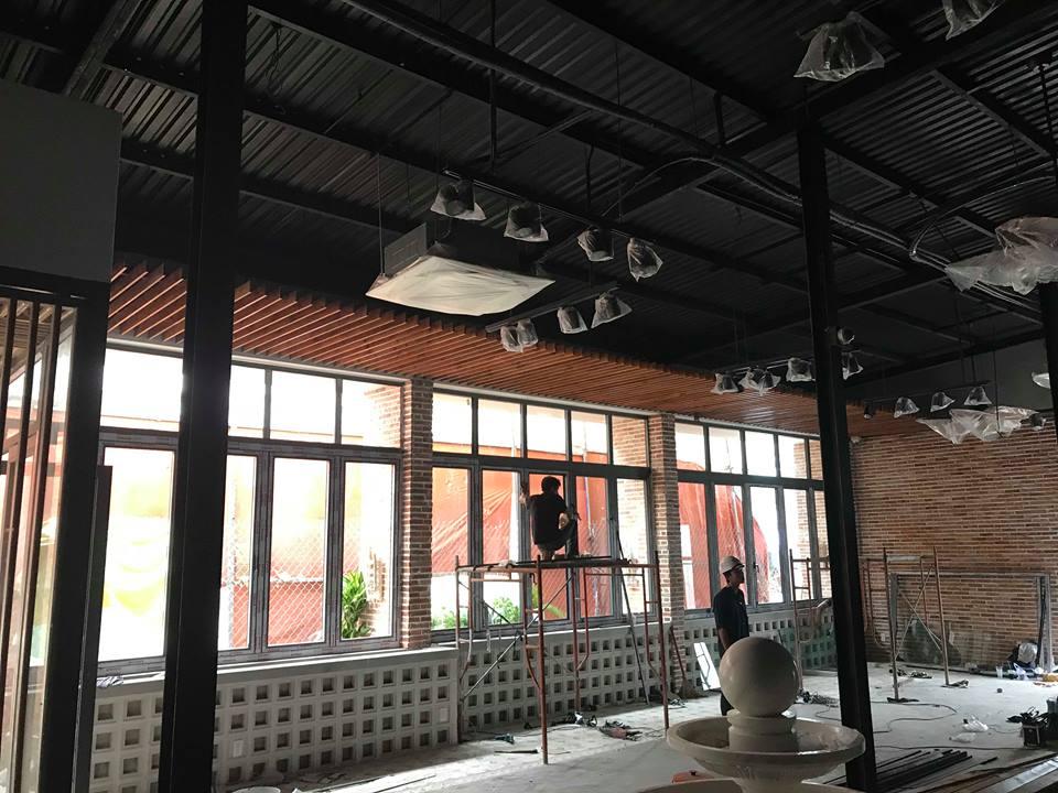 pcm thi công dự án nhà hàng chay zen coffee tại tân bình