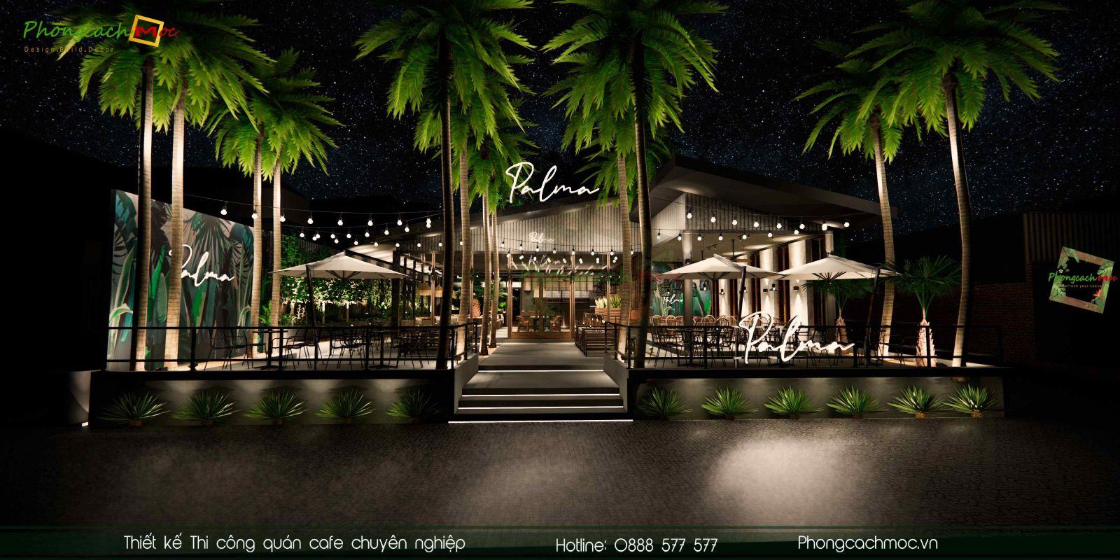 Thiết kế mặt tiền Palma Garden