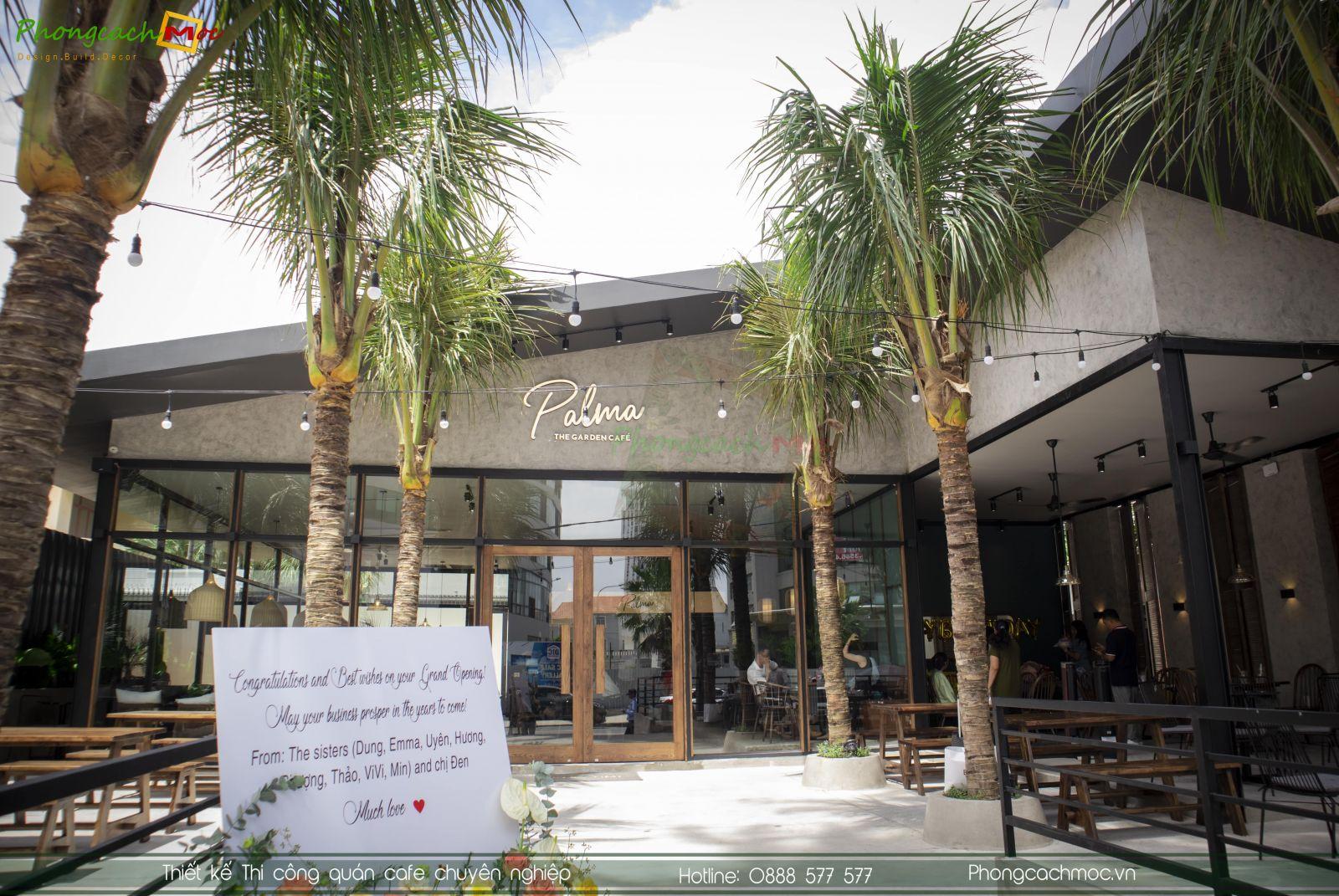 Hoàn thiện quán cafe Palma Vũng Tàu
