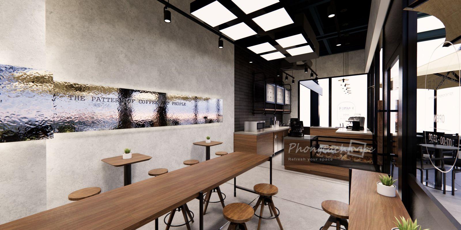 Thiết kế quán cafe Simplicite Cafe