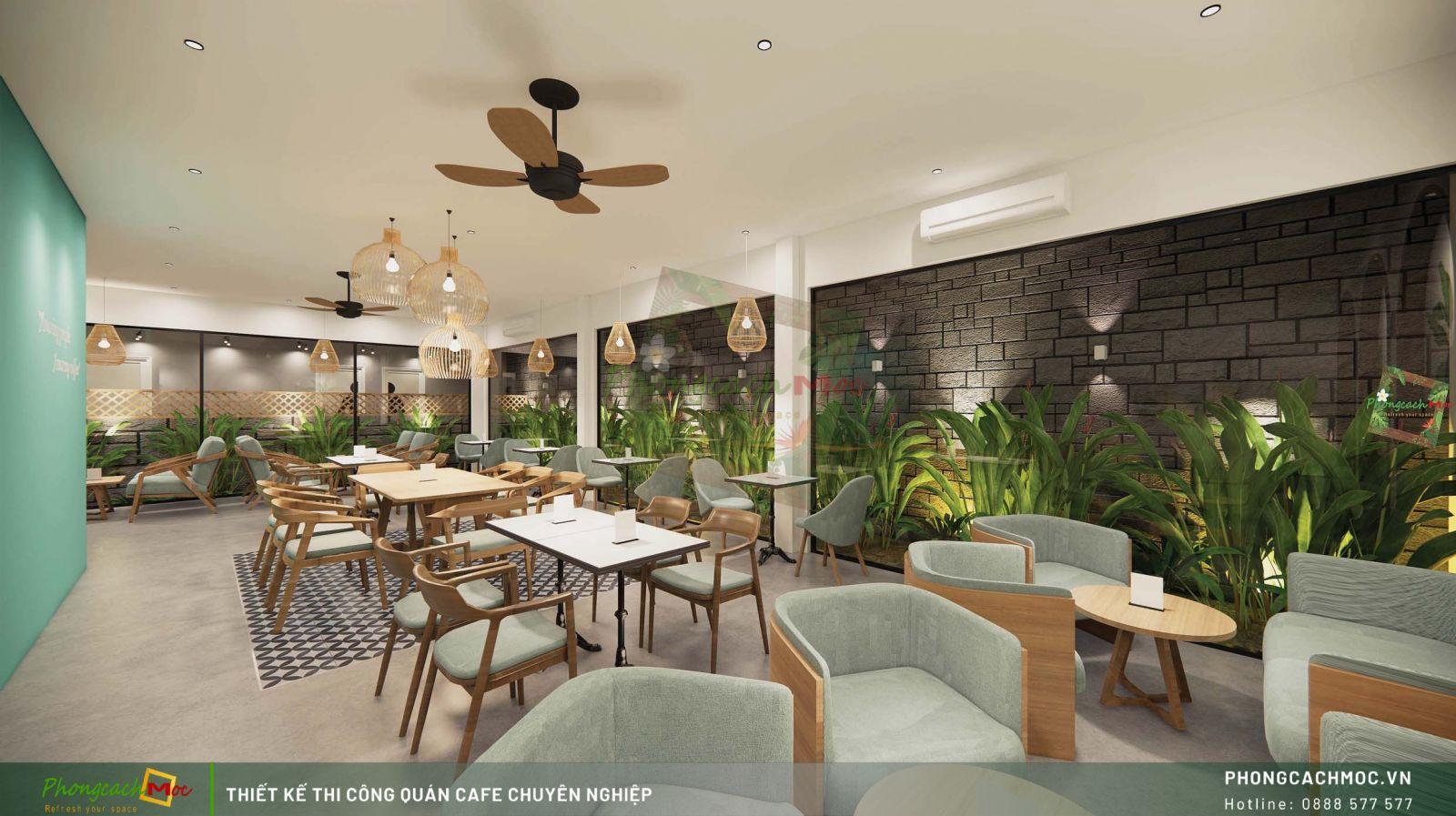 Thiết kế không gian Indochine Coffee