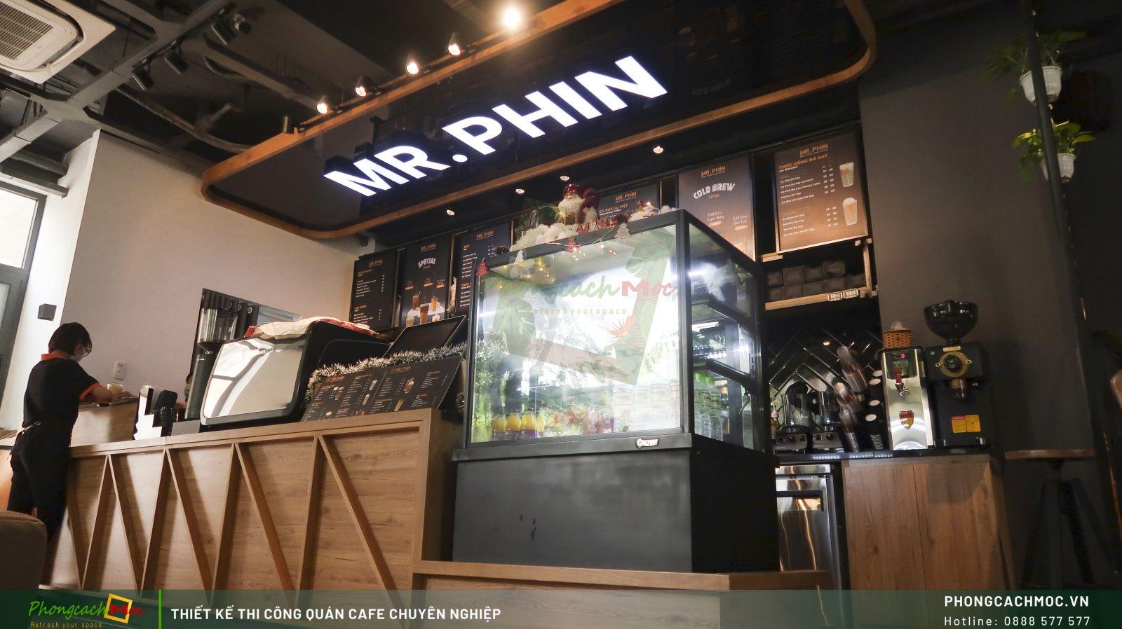 Quán cafe Mr. Phin