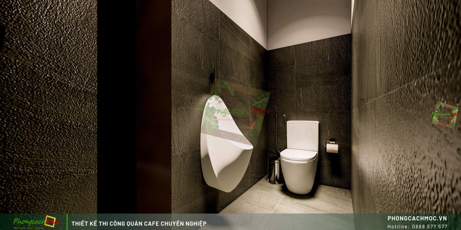 Thiết kế không gian - khu WC