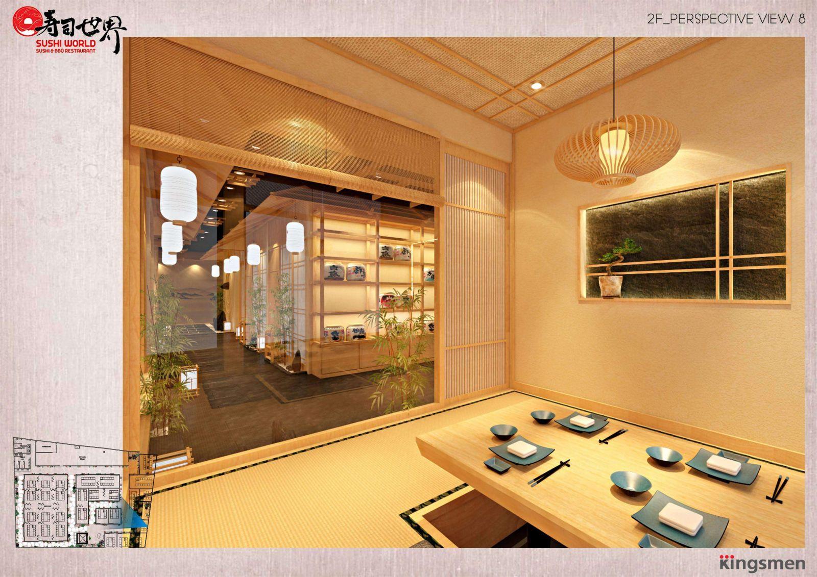 mẫu thiết kế nhà hàng đẹp tại tphcm
