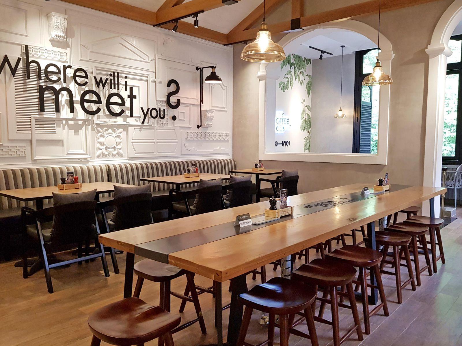 Quán cafe The Coffee Club Hàn Thuyên