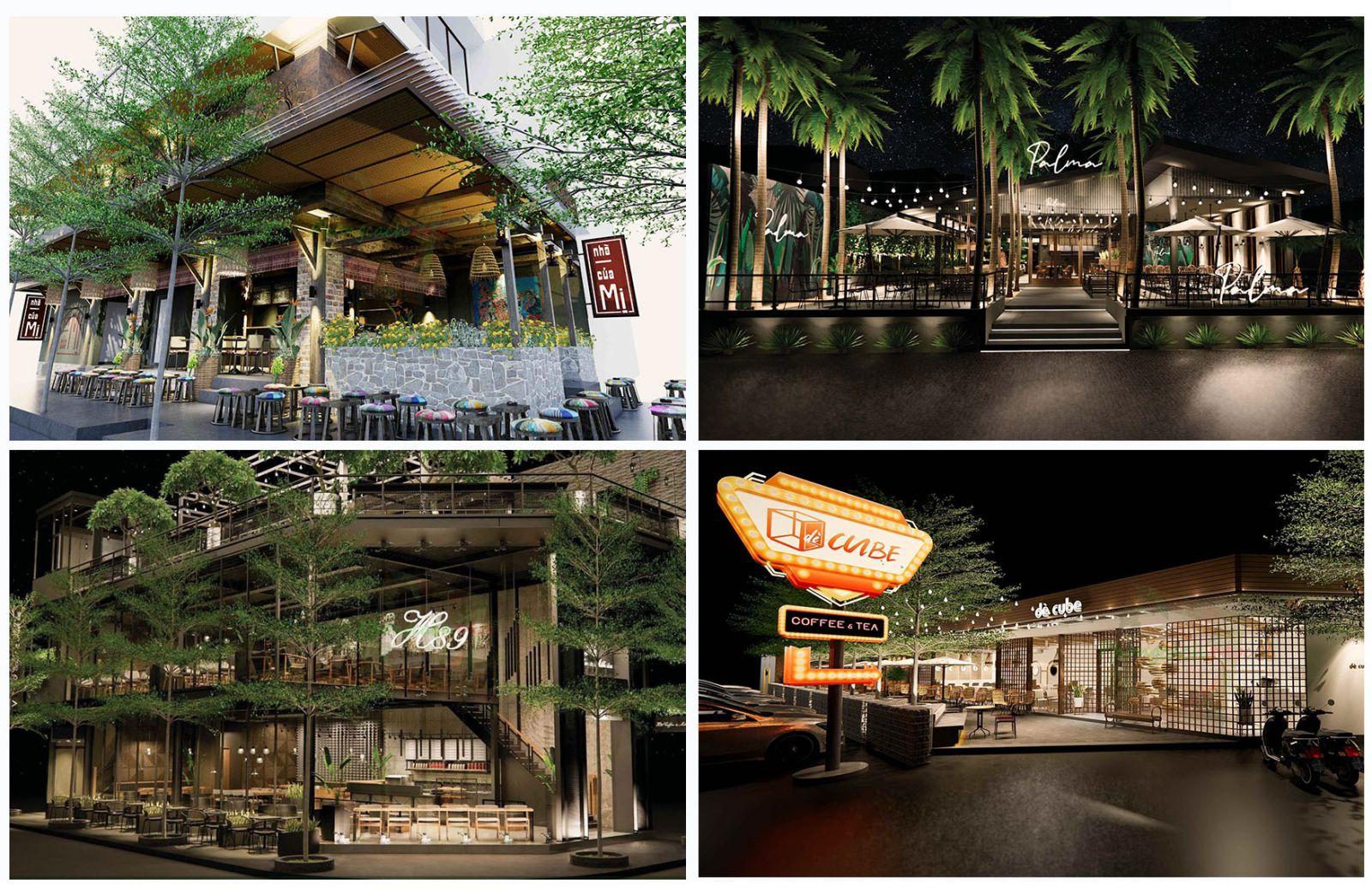 Thiết kế quán cafe | Phong Cách Mộc
