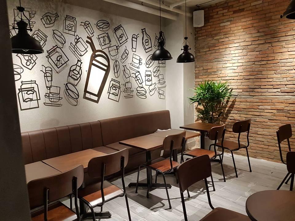 bàn ghế nội thất quán cafe kafiti coffee