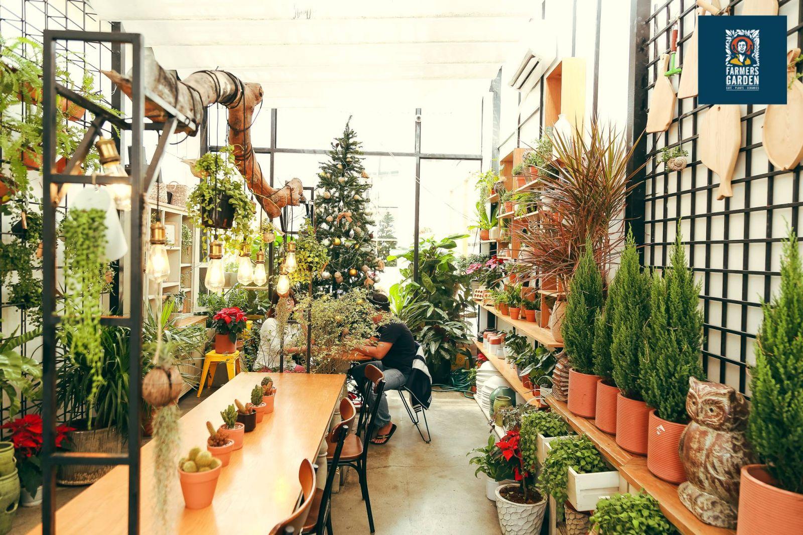 không gian nội thất quán cafe đẹp tại sài gòn