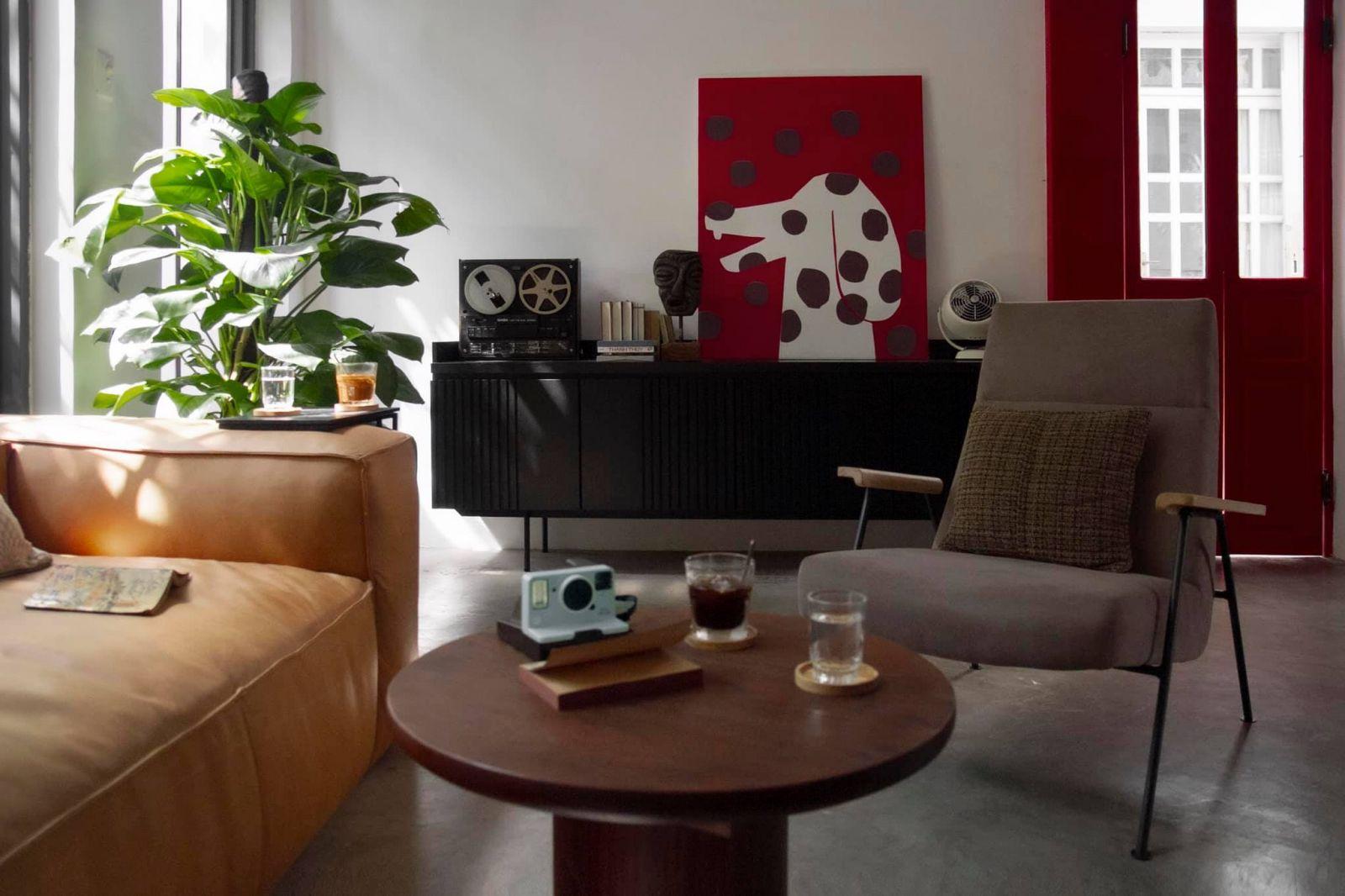 không gian nội thất quán zero coffee and furniture tại quận 3 tphcm